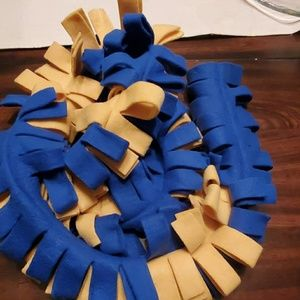 Accessories - Blue & Yellow scarf